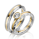 Two Rings with a specific style